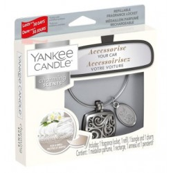 YANKEE CANDLE CLEAN COTTON CHARMING SCENT ZÁKLADNÍ JEDNOTKA/POUZDRO SQUARE