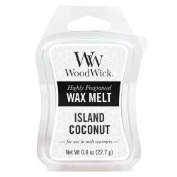 WOODWICK ISLAND COCONUT VOSK
