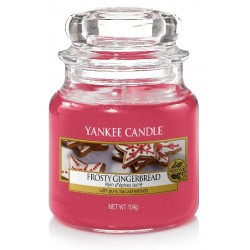 YANKEE CANDLE FROSTY GINGERBREAD CLASSIC MALÝ