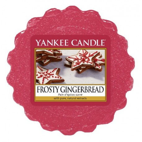 YANKEE CANDLE FROSTY GINGERBREAD CLASSIC VELKÝ