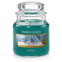 YANKEE CANDLE ICY BLUE SPRUCE CLASSIC MALÝ