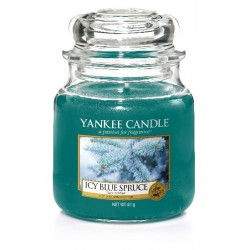 YANKEE CANDLE ICY BLUE SPRUCE CLASSIC STŘEDNÍ
