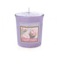 YANKEE CANDLE SWEET MORNING ROSE CLASSIC MALÝ
