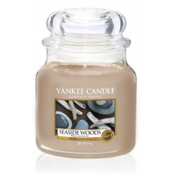 YANKEE CANDLE SEASIDE WOODS CLASSIC STŘEDNÍ