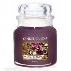 YANKEE CANDLE MOONLIT BLOSSOMS CLASSIC STŘEDNÍ