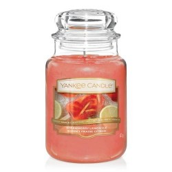 YANKEE CANDLE STRAWBERRY LEMON ICE CLASSIC VELKÝ