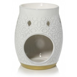 YANKEE CANDLE ADDISON PATTERNED CERAMIC AROMALAMA