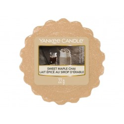 VONNÁ SVÍČKA YANKEE CANDLE SWEET MAPLE CHAI VONNÝ VOSK DO AROMALAMPY