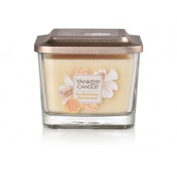 YANKEE CANDLE ELEVATION RICE MILK & HONEY HRANATÁ STŘEDNÍ 3 KNOTY