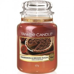 YANKEE CANDLE PERSIMMON & BROWN SUGAR CLASSIC VELKÝ