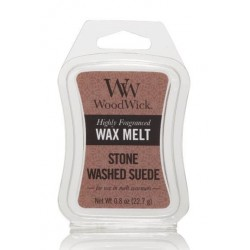 WOODWICK STONE WASHED SUEDE VOSK DO AROMALAMPY