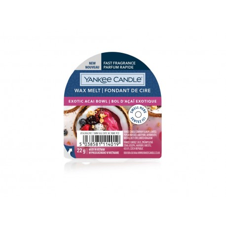 YANKEE CANDLE EXOTIC ACAI BOWL VONNÝ VOSK DO AROMALAMPY